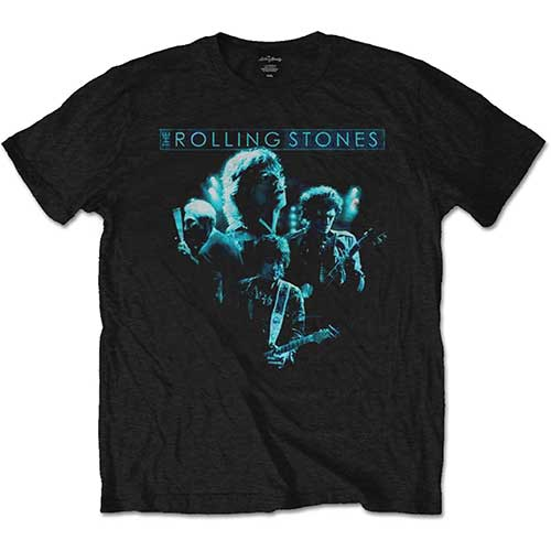 The Rolling Stones Mens T-Shirt: Band Glow (XX-Large)