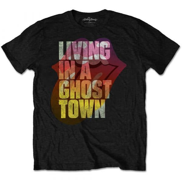 The Rolling Stones Mens T-Shirt: Ghost Town (XX-Large)