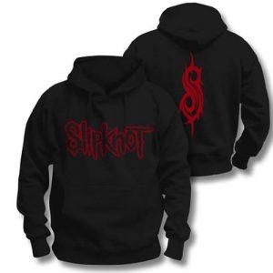 Slipknot Mens Pullover Hoodie: Logo (XX-Large) (Back Print)