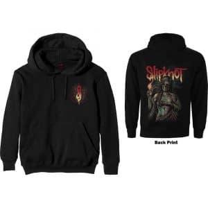 Slipknot Mens Pullover Hoodie: Burn Me Away (Back Print) (XX-Large)