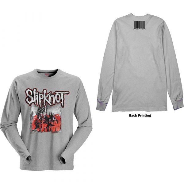 Slipknot Mens Long Sleeved T-Shirt: Self-Titled (Back Print) (XX-Large)