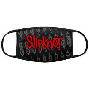 Slipknot Face Mask: Red Logo & Sigils