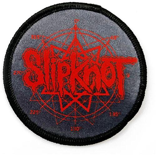 Slipknot Standard Patch: Logo & Nanogram