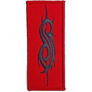 Slipknot Standard Patch: Black Tribal Sigil