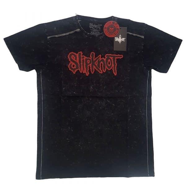 Slipknot Mens T-Shirt (Snow Wash): Logo (XX-Large)