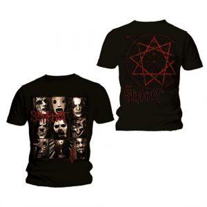 Slipknot Mens T-Shirt: Mezzotint Decay (Back Print) (XX-Large)