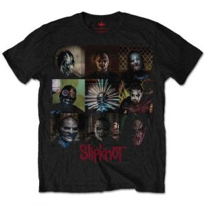 Slipknot Mens T-Shirt: Blocks