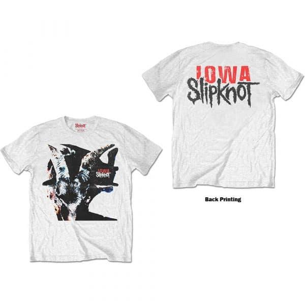 Slipknot Mens T-Shirt: Iowa Goat Shadow (Back Print) (XX-Large)