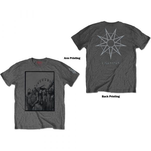 Slipknot Mens T-Shirt: Amusement Park (Back Print) (XX-Large)