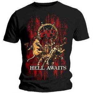 Slayer Mens T-Shirt: Hell Awaits (XX-Large)