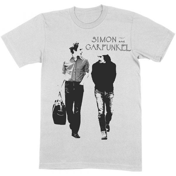 Simon & Garfunkel Mens T-Shirt: Walking (XX-Large)