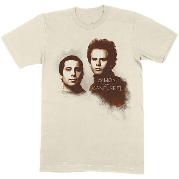 Simon & Garfunkel Mens T-Shirt: Faces (XX-Large)