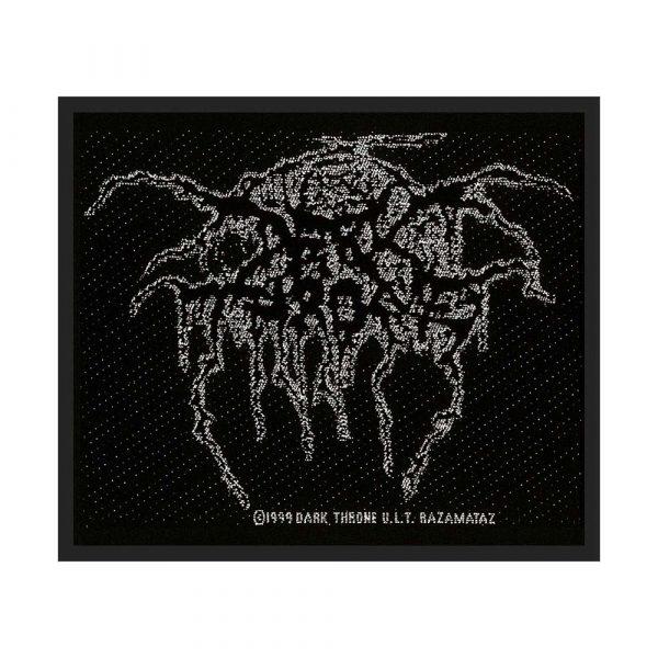 Darkthrone Standard Patch: Lurex Logo