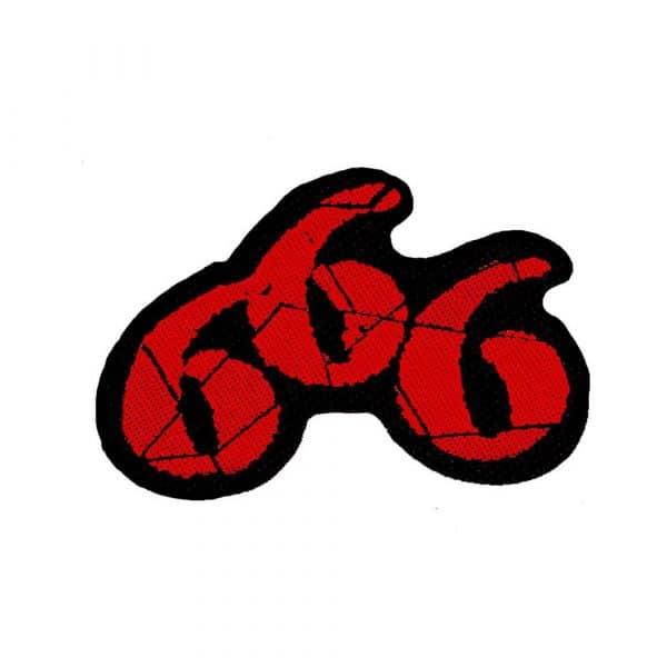 Generic Standard Patch: 666 Cut-Out