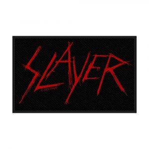 Slayer Standard Patch: Scratched Logo
