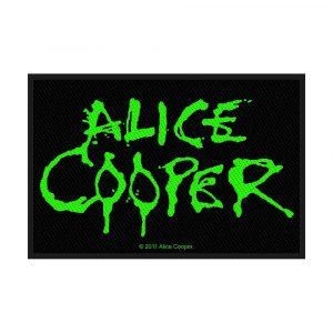 Alice Cooper Standard Patch: Logo