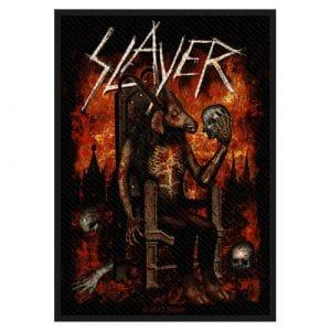 Slayer Standard Patch: Devil on Throne