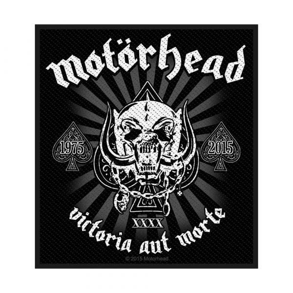Motorhead Standard Patch: Victoria aut Morte 1975 - 2015