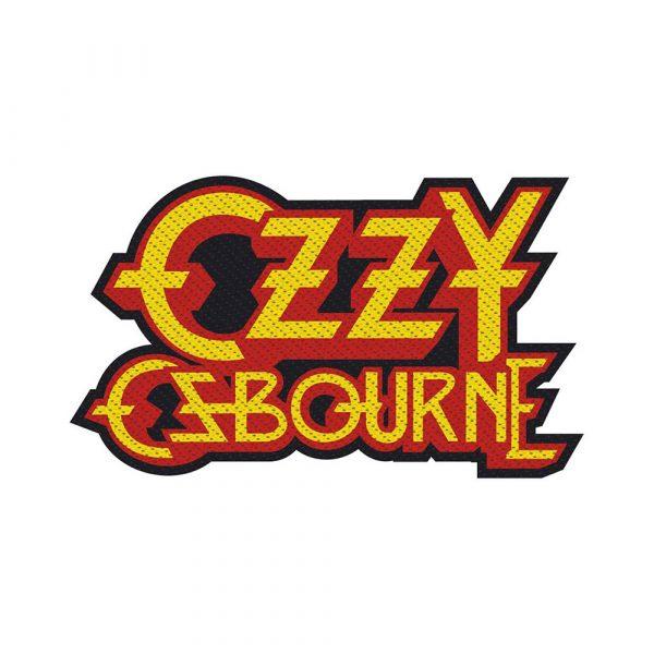 Ozzy Osbourne Standard Patch: Logo Cut-Out