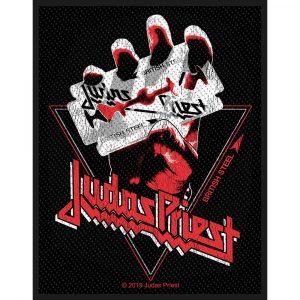 Judas Priest Standard Patch: British ST-Shirtl Vintage