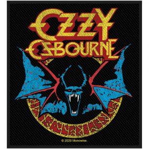 Ozzy Osbourne Standard Patch: Bat
