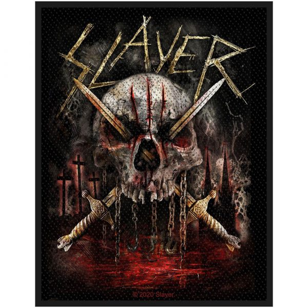 Slayer Standard Patch: Skull & Swords