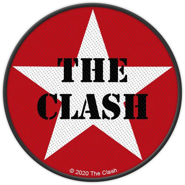 The Clash Standard Patch: Military Logo