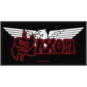 Saxon Standard Patch: Logo/Eagle