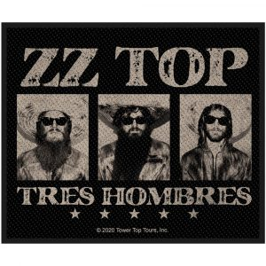 ZZ Top Standard Patch: Tres Hombres