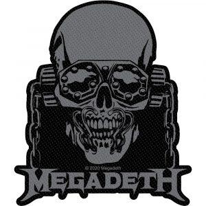 Megadeth Standard Patch: Vic Rattlehead Cut Out