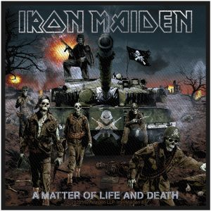 Iron Maiden Standard Patch: A Matter Of Life And Death (Retail Pack)