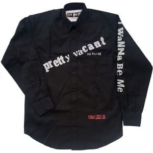 The Sex Pistols Mens Shirt: Pretty Vacant (XX-Large)