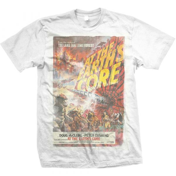 StudioCanal Mens T-Shirt: At the Earths Core (XX-Large)