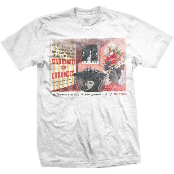 StudioCanal Mens T-Shirt: Kind Hearts & Coronets (XX-Large)