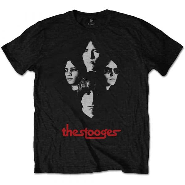 Iggy & The Stooges Mens T-Shirt: Group Shot (XX-Large)