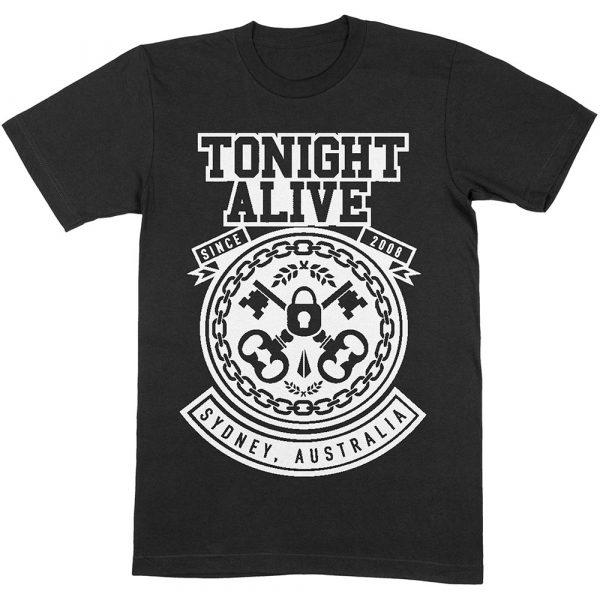Tonight Alive Mens T-Shirt: TA Keys (XX-Large)
