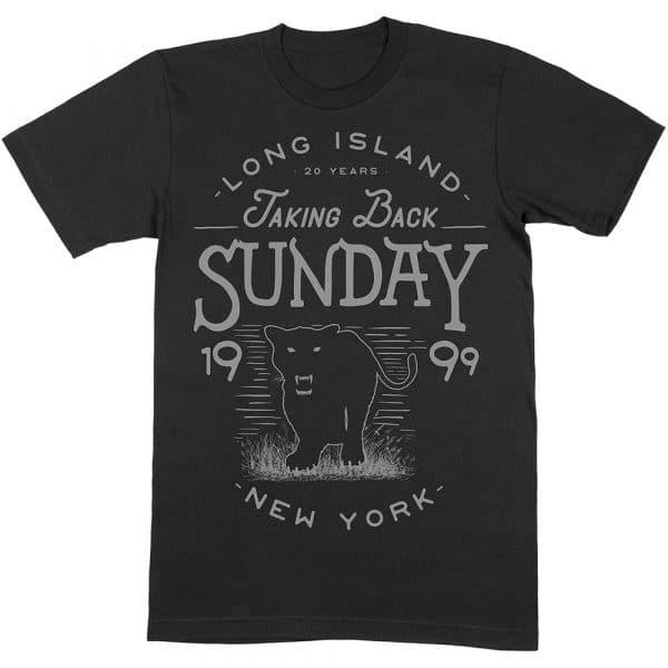 Taking Back Sunday Mens T-Shirt: Panther (XX-Large)