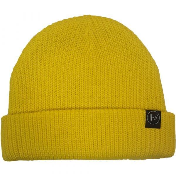 Twenty One Pilots Beanie Hat: Double Bars