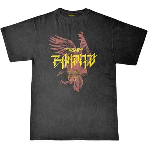 Twenty One Pilots Mens T-Shirt: Bandito Bird (XX-Large)