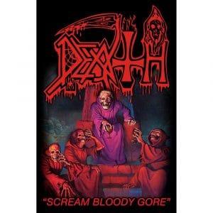 Death Textile Flag: Scream Bloody Gore