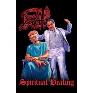 Death Textile Flag: Spiritual Healing