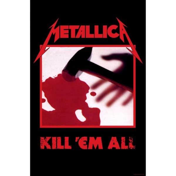 Metallica Textile Flag: Kill 'em all