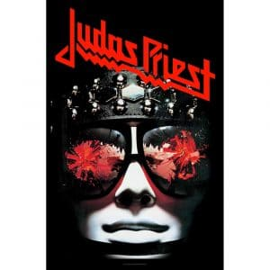 Judas Priest Textile Flag: Hell Bent For Leather