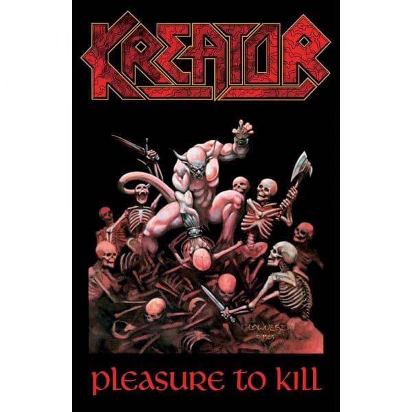 Kreator Textile Flag: Pleasure To Kill