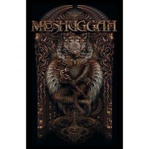 Meshuggah Textile Flag: Gateman