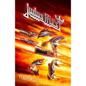 Judas Priest Textile Flag: Firepower