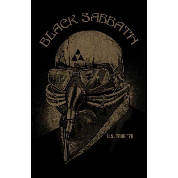Black Sabbath Textile Flag: Us Tour '78