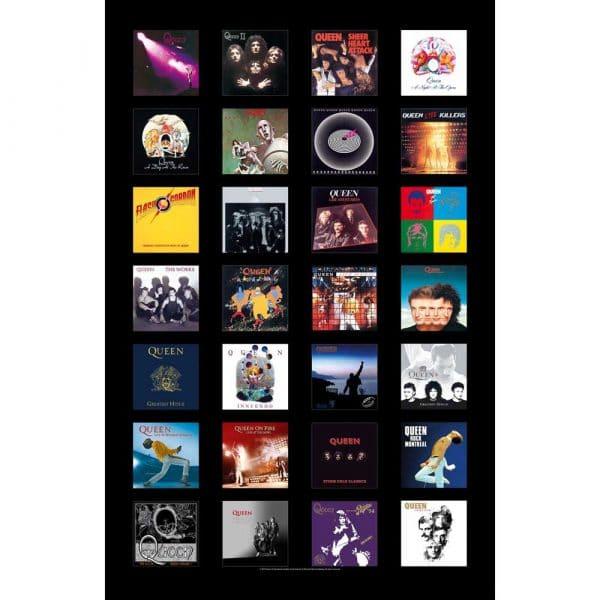 Queen Textile Flag: Albums