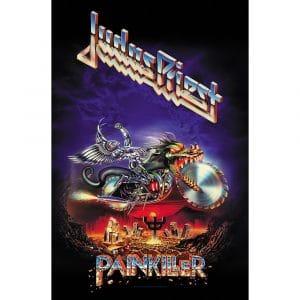 Judas Priest Textile Flag: Painkiller