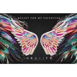Bullet For My Valentine Textile Flag: Gravity
